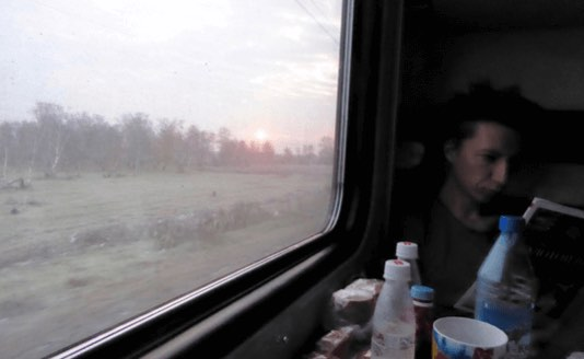 blog on the train 1