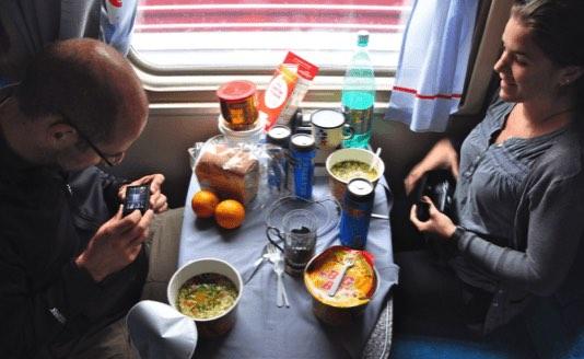 blog on the train 2