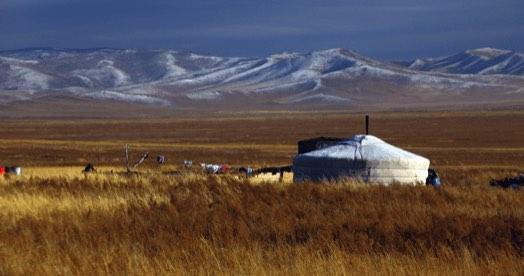 mongolian ger image 1