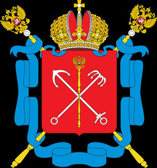coat of arms of St Petersburg
