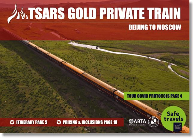 Tsars Gold Beijing Moscow dossier