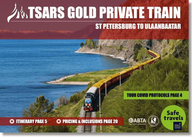 Tsars Gold St Petersburg Ulaanbaatar dossier