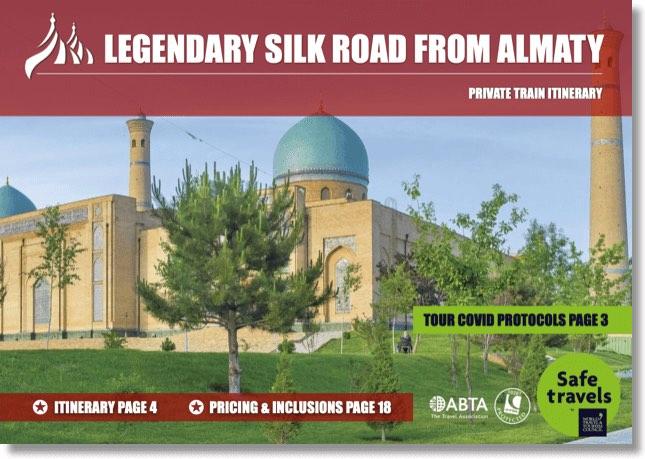 Tsars Gold ledgendary silk road dossier Almaty