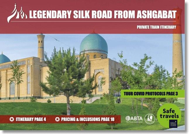 Tsars Gold ledgendary silk road dossier Ashgabat