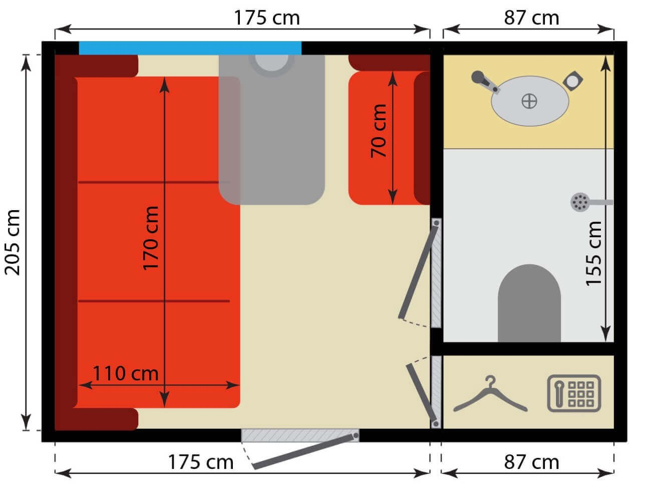 imperial russia business class dimensions