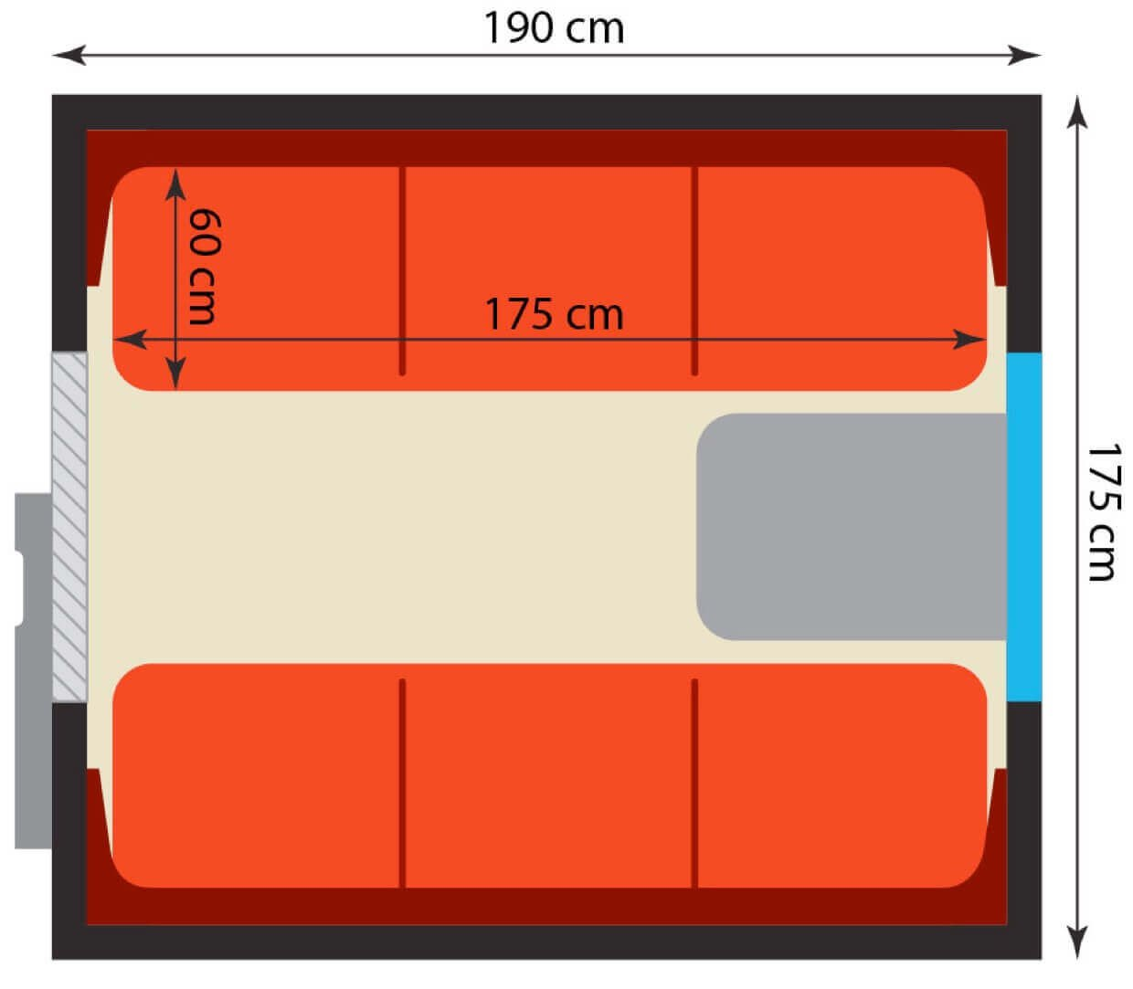 imperial russia first class dimensions