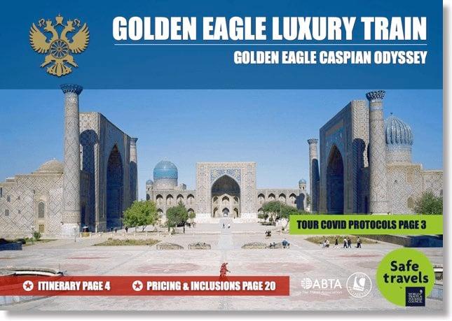 Golden Eagle caspain odyessy dossier