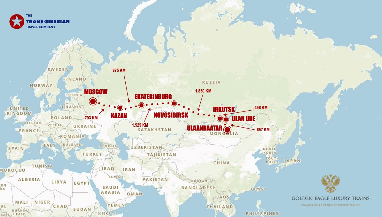 Golden Eagle moscow UB express map