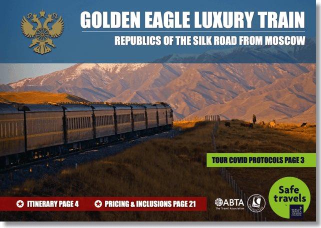 Golden Eagle republics silk road Moscow dossier