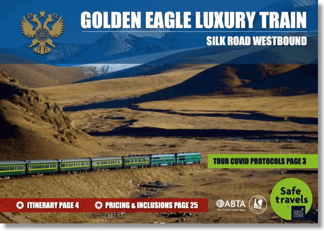 Golden Eagle silk road westbound dossier