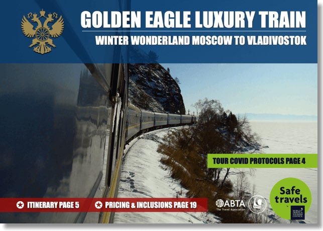 Golden Eagle winter eastbound dossier
