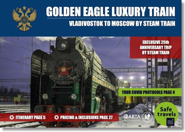 Golden Eagle winter steam westbound dossier