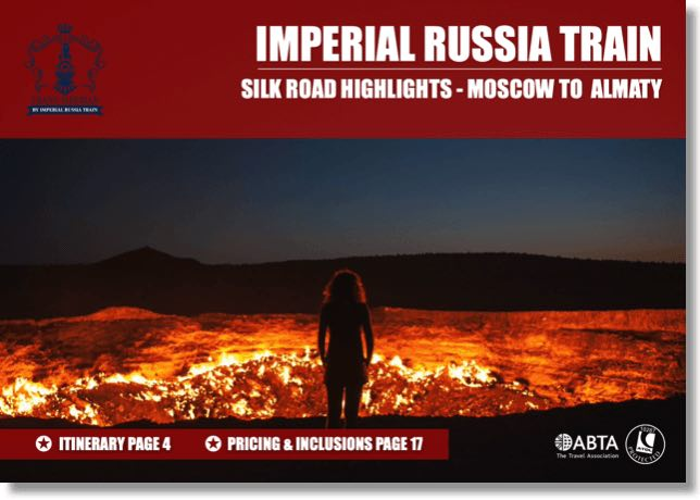Imperial Russia Silk Road dossier