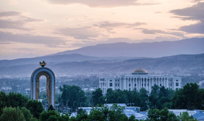 central asia dushanbe