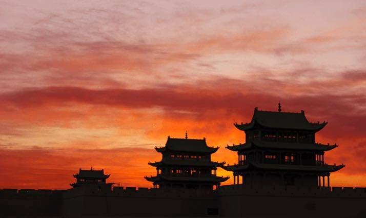 central asia jiayuguan